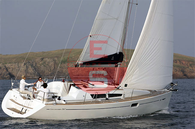 boat Sun Odyssey 36i bolina Copia
